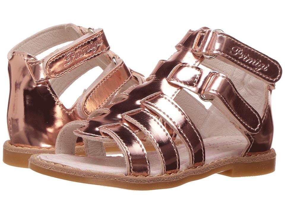 Primigi Kids - PHD 7098 (Toddler) (Rose Gold) Girl's Shoes