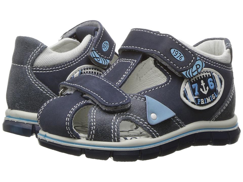 Primigi Kids - PTZ 7566 (Infant/Toddler) (Blue) Boy's Shoes