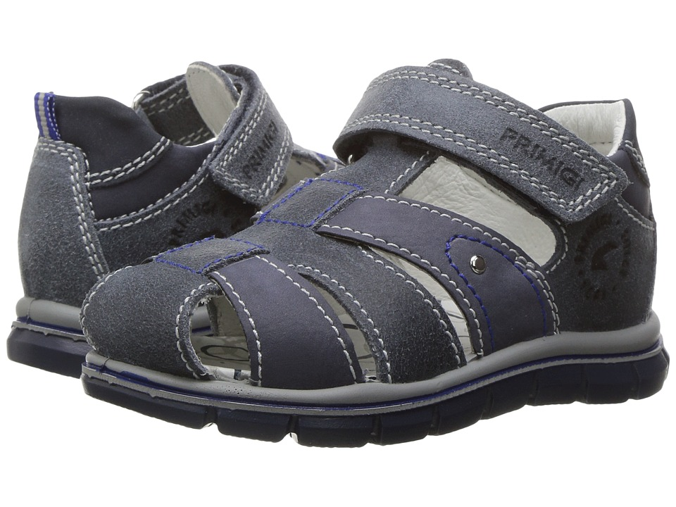 Primigi Kids - PTZ 7565 (Infant/Toddler) (Jeans) Boy's Shoes