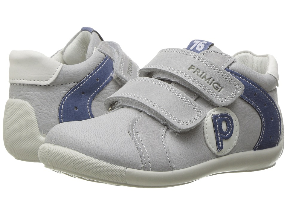 Primigi Kids - PSU 7521 (Infant/Toddler) (Grey) Boy's Shoes