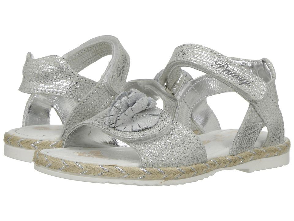 Primigi Kids - PHG 7115 (Toddler/Little Kid) (Silver) Girl's Shoes
