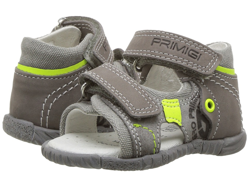 Primigi Kids - PBF 7045 (Infant/Toddler) (Grey) Boy's Shoes