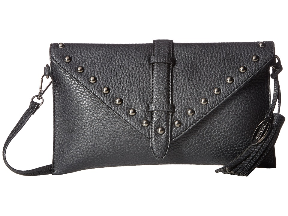 CARLOS by Carlos Santana - Capricorn Clutch (Black) Clutch Handbags