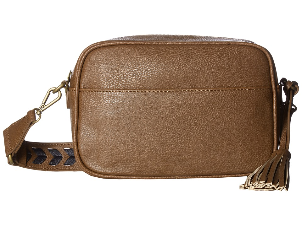 CARLOS by Carlos Santana - Libra Camera Bag (Whiskey/Stitch) Bags