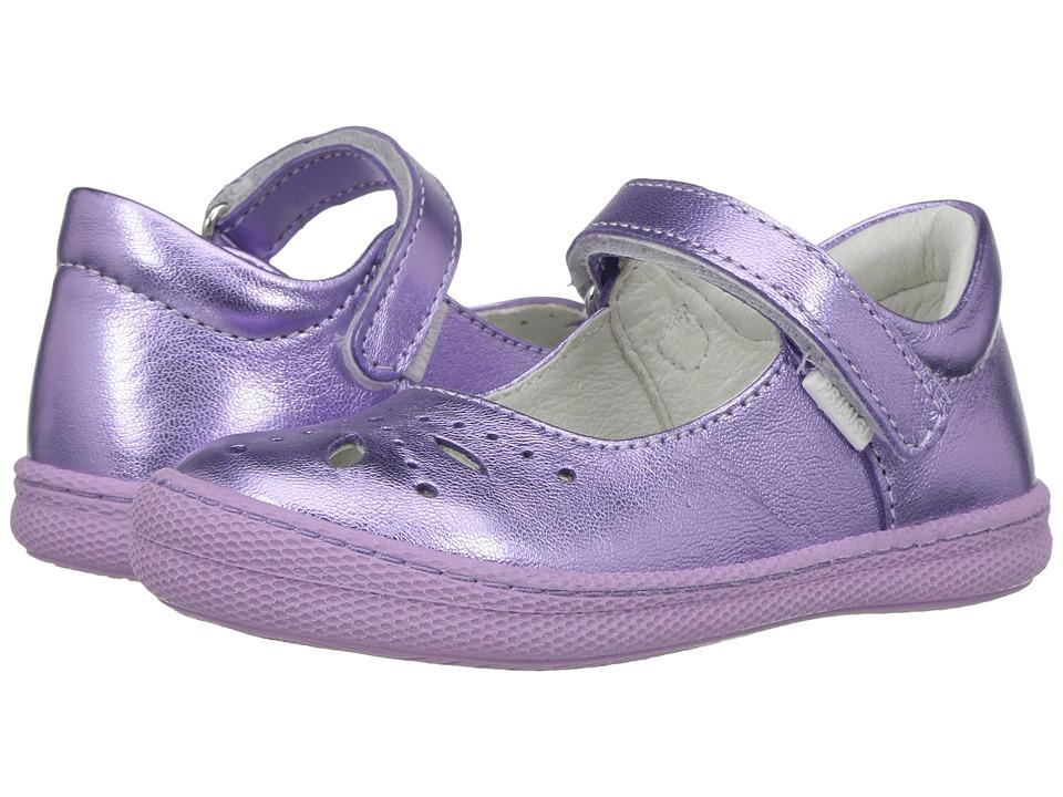 Primigi Kids - PTF 7186 (Toddler) (Purple) Girl's Shoes