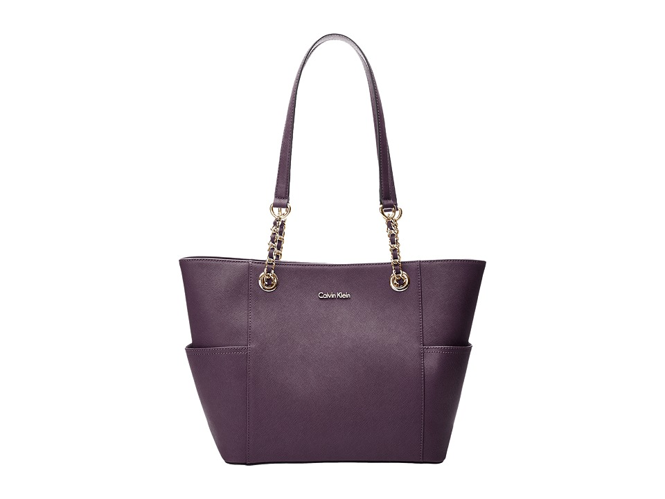 Calvin Klein - Key Items H3DA11HU (Acai) Tote Handbags