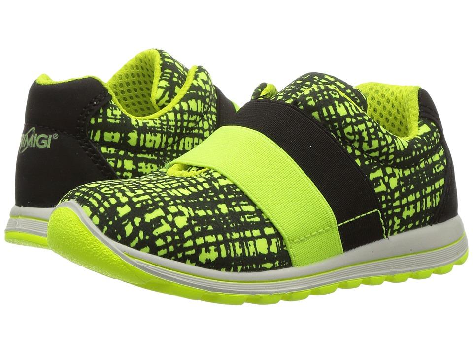 Primigi Kids - PTI 7533 (Toddler) (Yellow/Black) Boy's Shoes