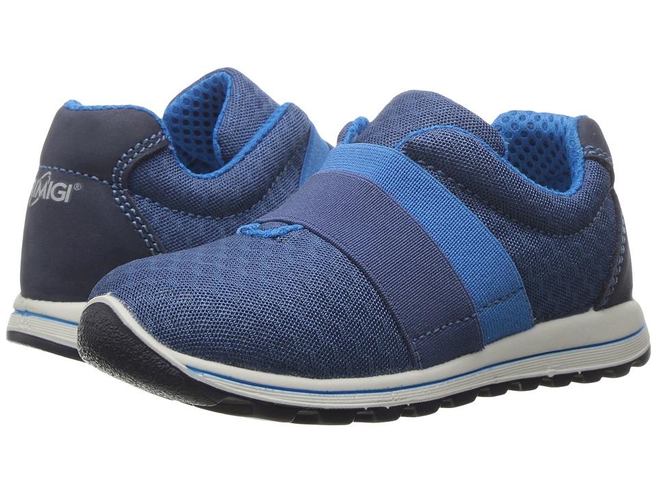 Primigi Kids - PTI 7533 (Toddler) (Grey/Blue) Boy's Shoes
