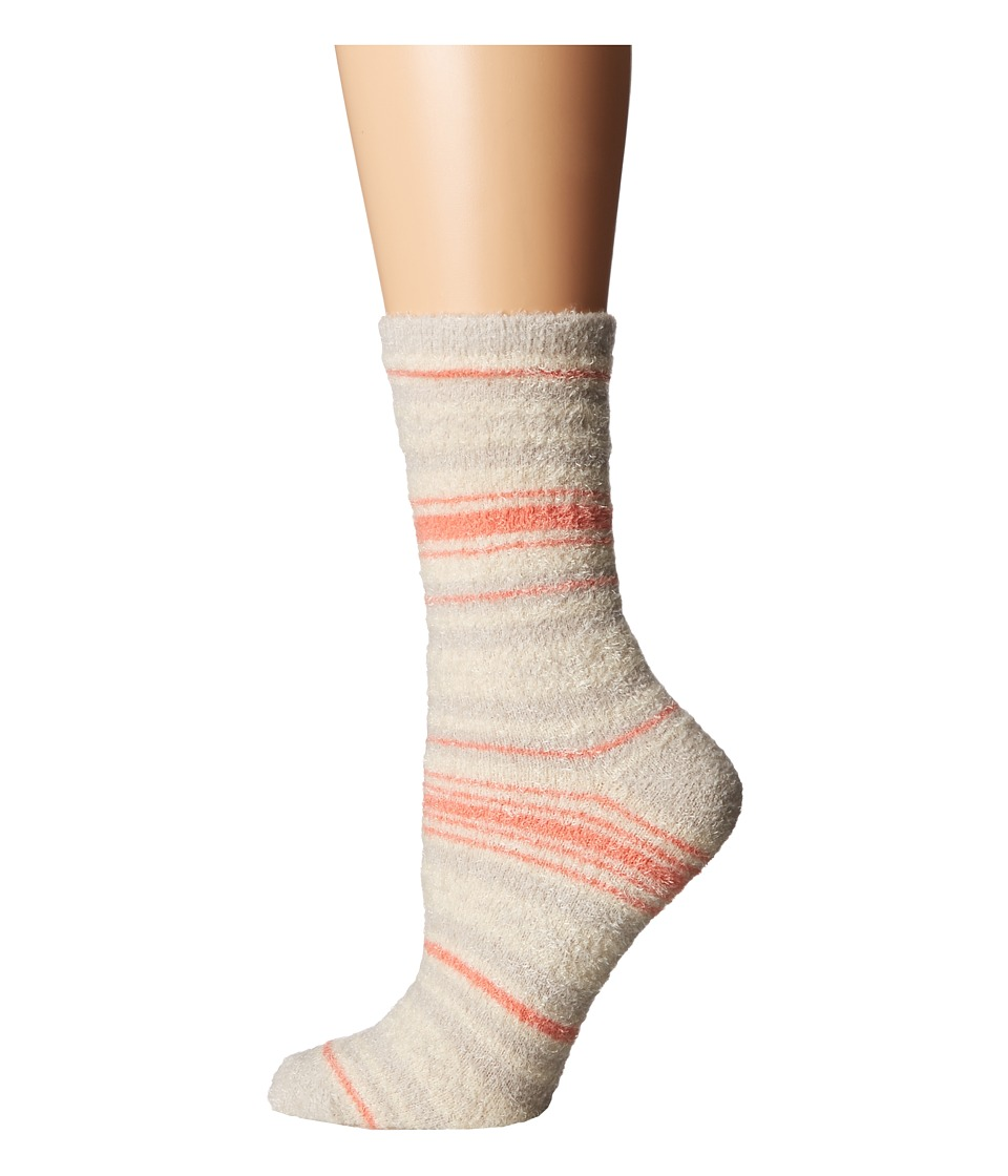 Free People - Orian So Soft Slipper Socks (Ivory Combo) Women's Quarter Length Socks Shoes
