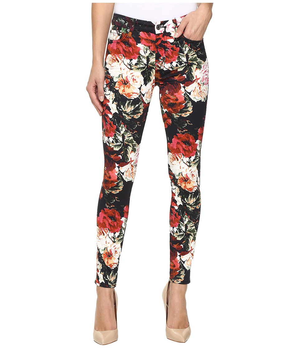 7 For All Mankind - The Ankle Skinny w/ Contour Waist Band in Victorian Garden (Victorian Garden) Women's Jeans