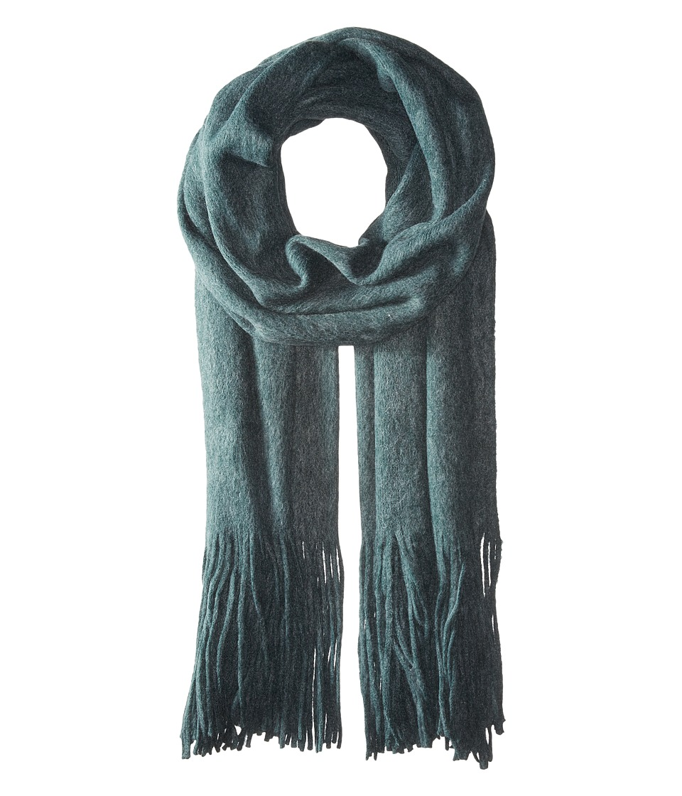 Free People - Kolby Brushed Scarf (Dark Blue) Scarves