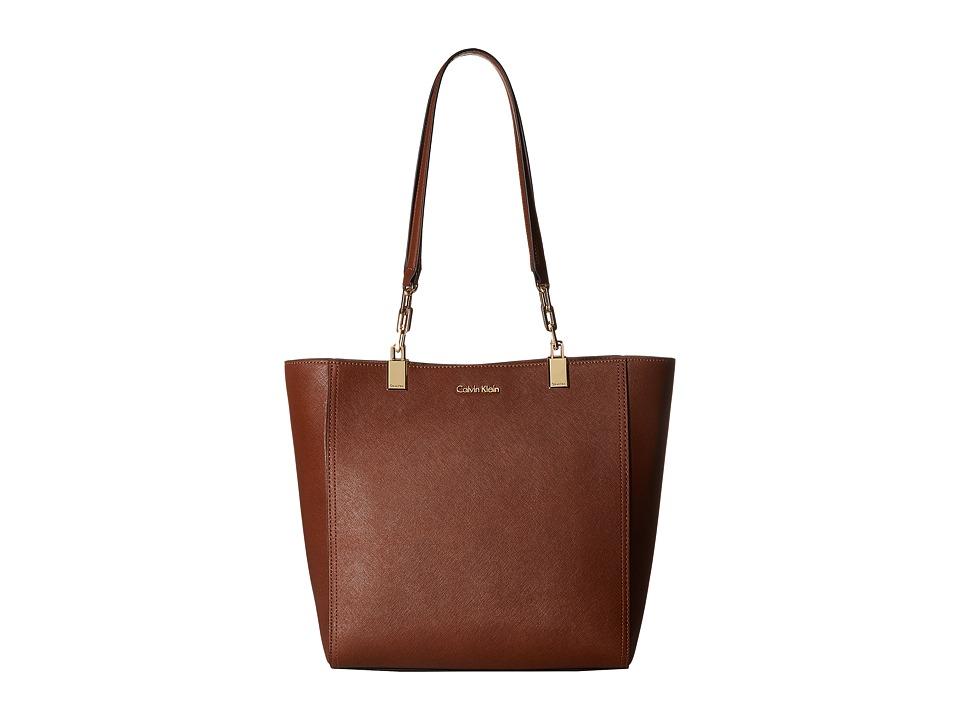 Calvin Klein - Key Item Saffiano Tote (Luggage) Tote Handbags