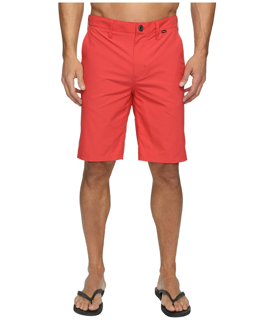 Hurley - Dri-FIT Chino Walkshort (University Red) Men's Shorts