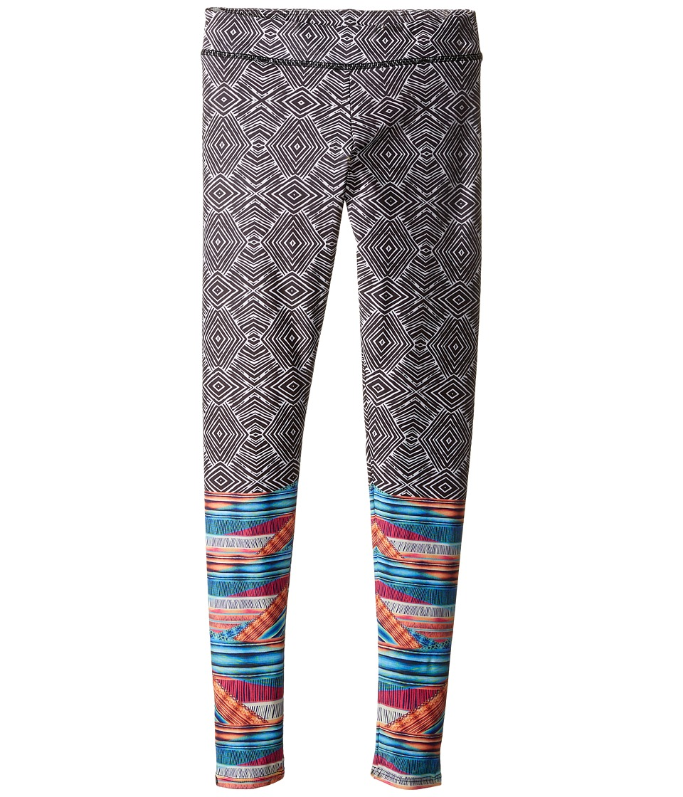 Onzie Kids - Graphic Leggings (Little Kids/Big Kids) (Tribal Effect) Girl's Casual Pants