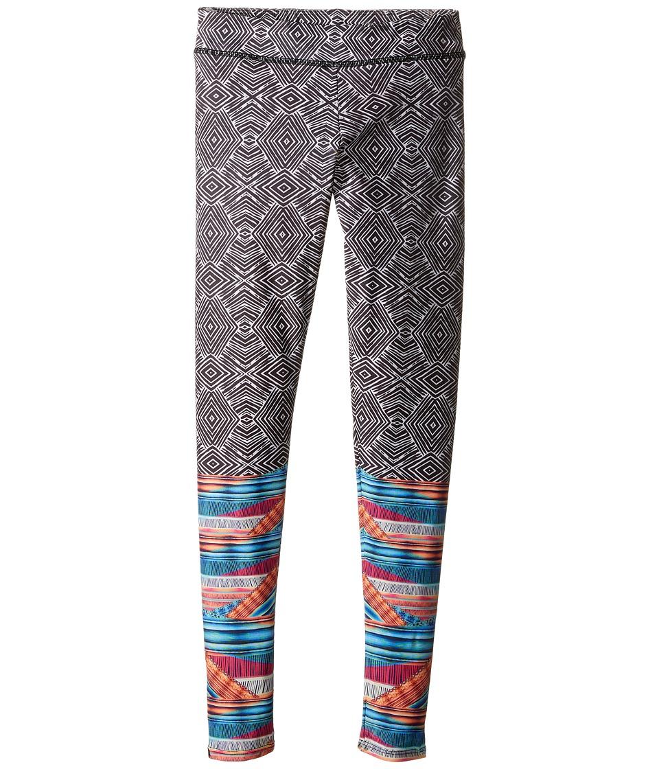 Onzie Kids - Graphic Leggings (Little Kids/Big Kids) (Tribal Effect) Girl's Casual Pants