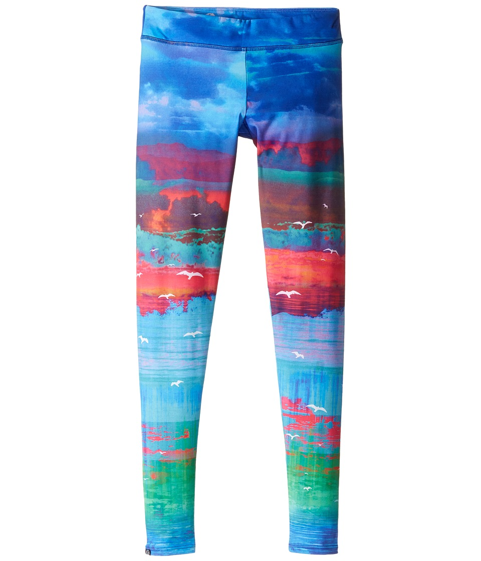 Onzie Kids - Graphic Leggings (Little Kids/Big Kids) (White Sands) Girl's Casual Pants