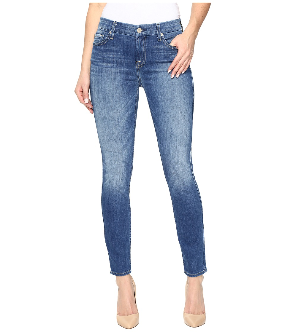 7 For All Mankind - The Ankle Skinny in Newcastle Broken Twill (Newcastle Broken Twill) Women's Jeans