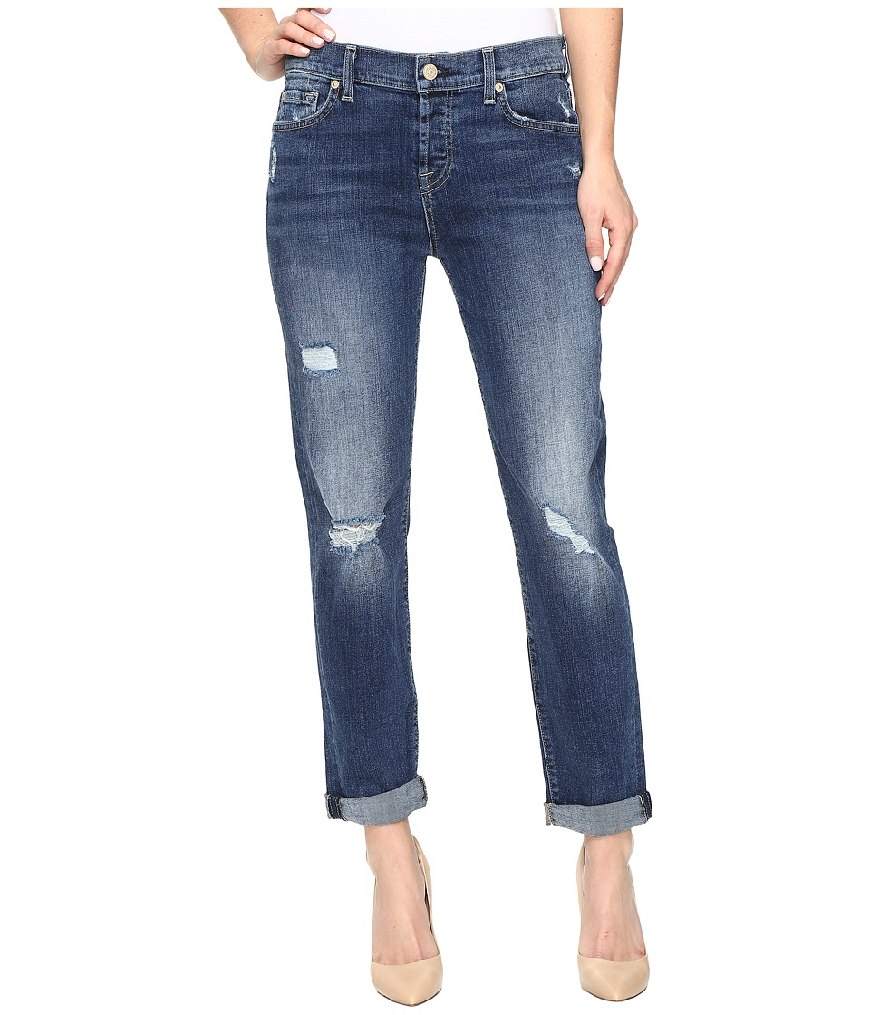 7 For All Mankind - Josefina w/ Destroy in High Street 2 (High Street 2) Women's Jeans