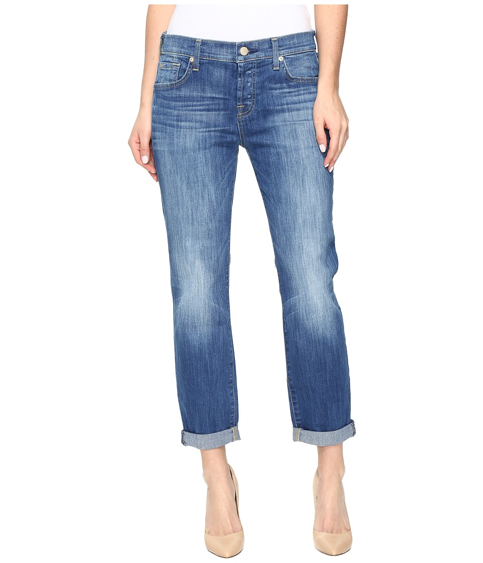 7 For All Mankind - Josefina in Newcastle Broken Twill (Newcastle Broken Twill) Women's Jeans