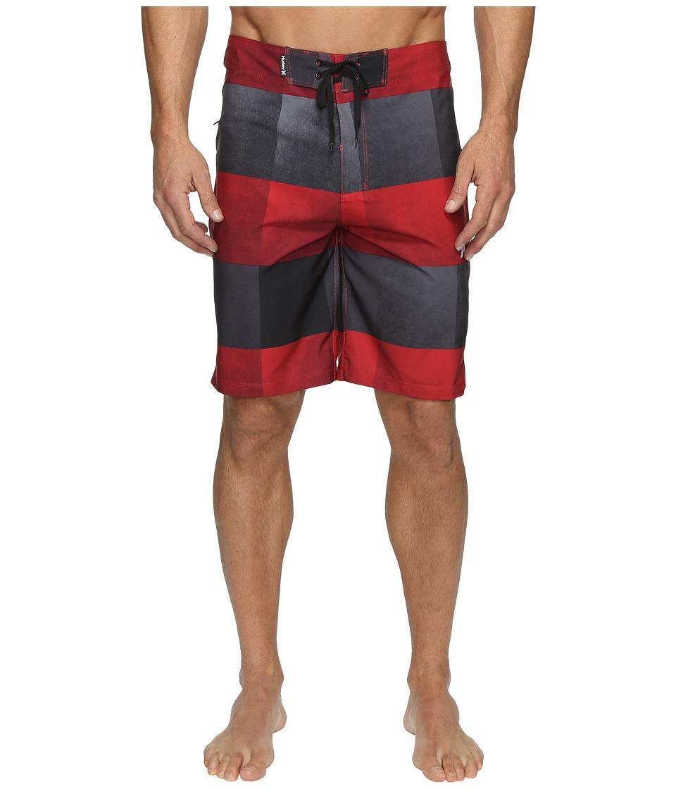 Hurley - Phantom Kingsroad 20 Boardshorts (Mahogany) Men's Swimwear