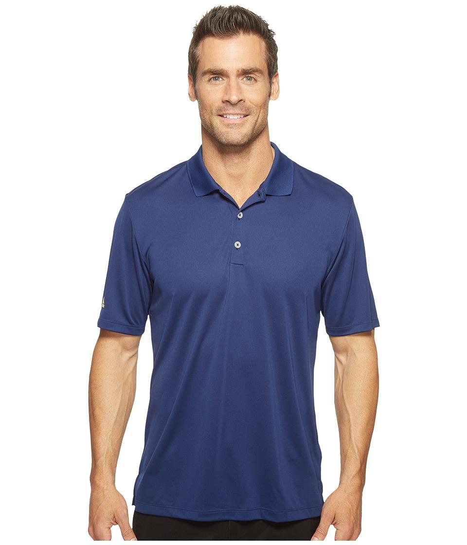 adidas Golf - Performance Polo (Dark Blue) Men's Clothing
