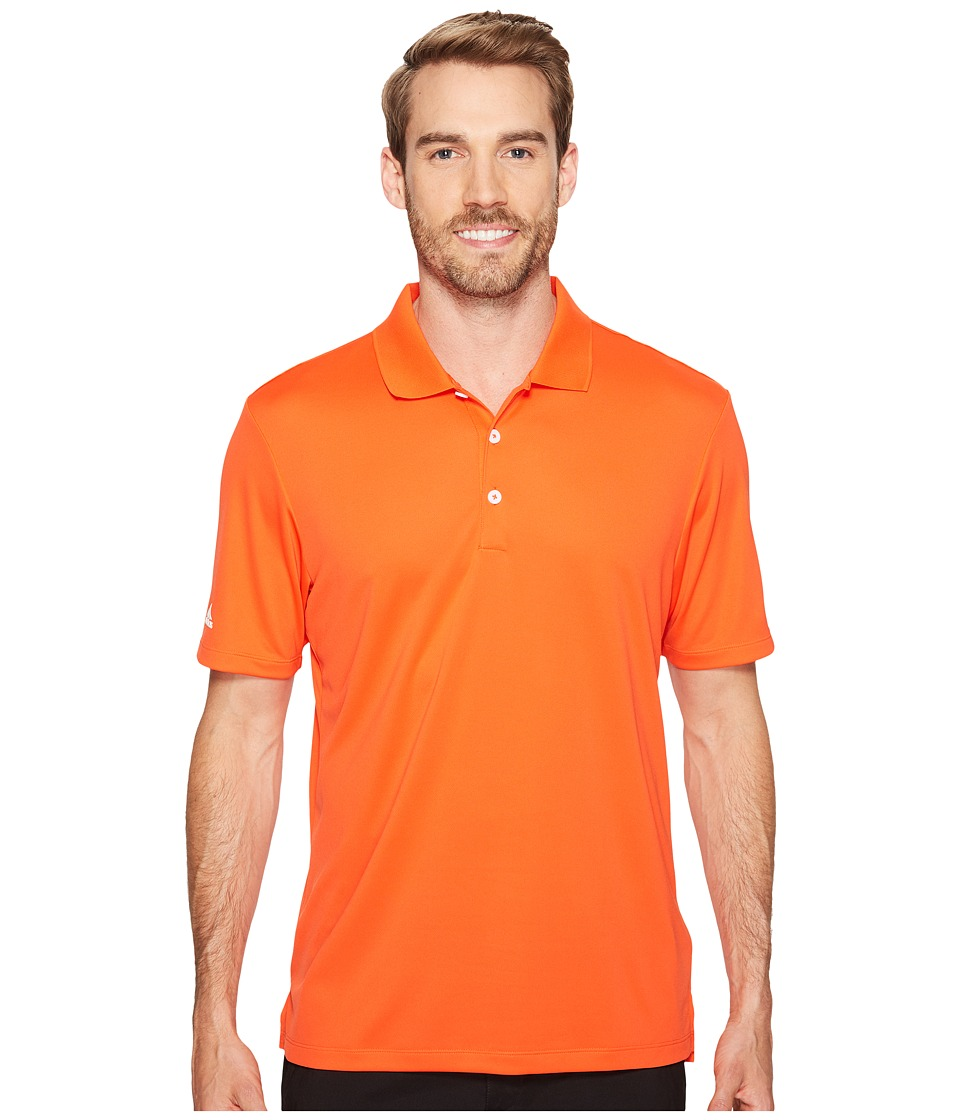 adidas Golf - Performance Polo (Energy) Men's Clothing