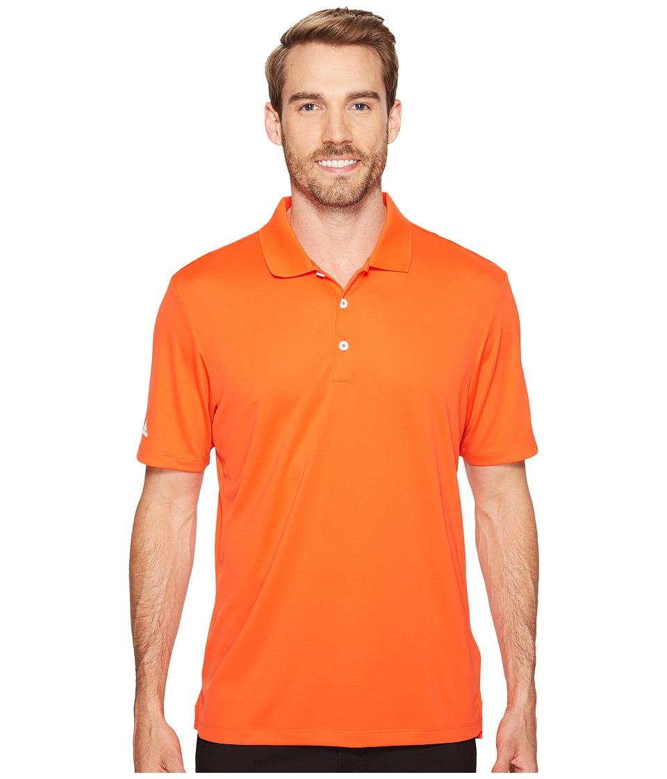 adidas Golf - Performance Polo (Energy) Men's Clothing