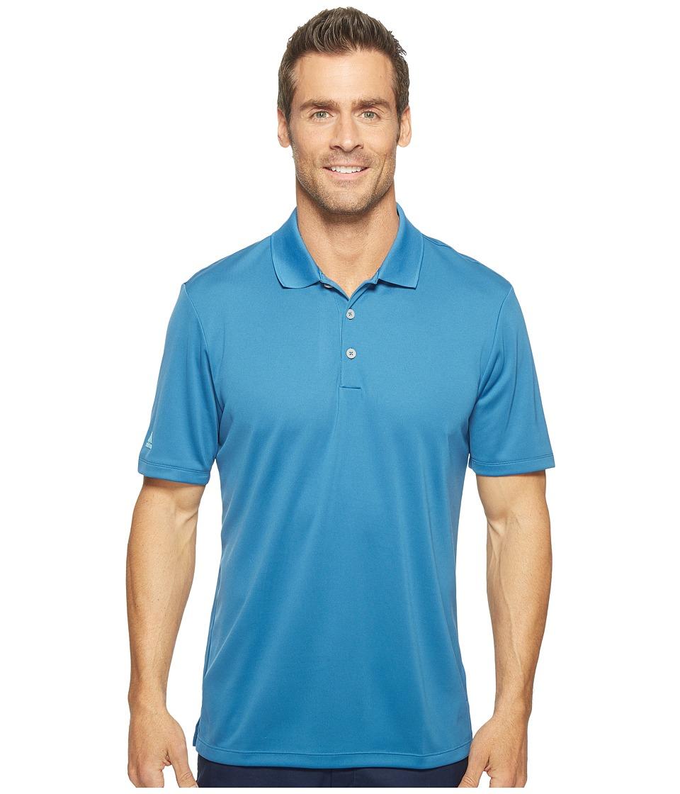 adidas Golf - Performance Polo (Core Blue) Men's Clothing