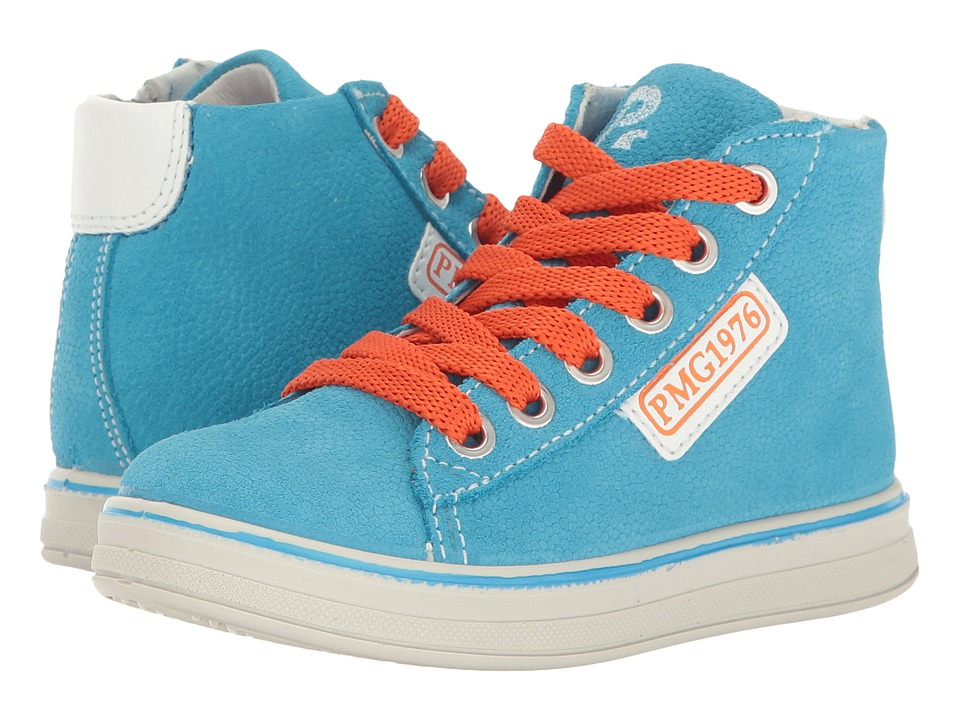 Primigi Kids - PAY 7622 (Toddler/Little Kid) (Turquoise) Boy's Shoes