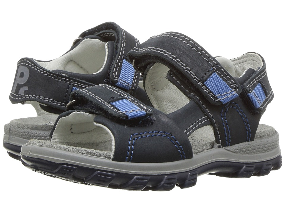 Primigi Kids - PRA 7647 (Toddler/Little Kid) (Blue) Boy's Shoes