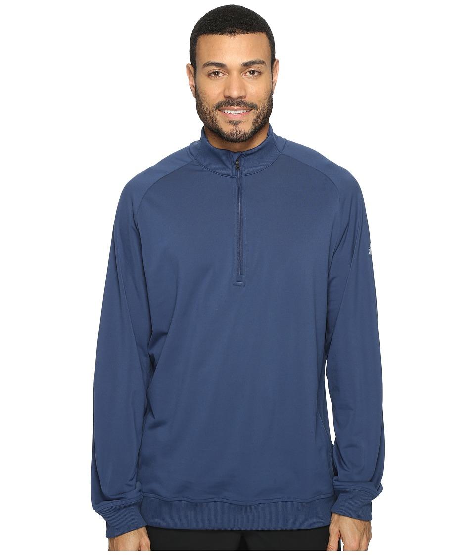 adidas Golf - Club 1/2 Zip (Dark Slate/Mid Grey) Men's Long Sleeve Pullover