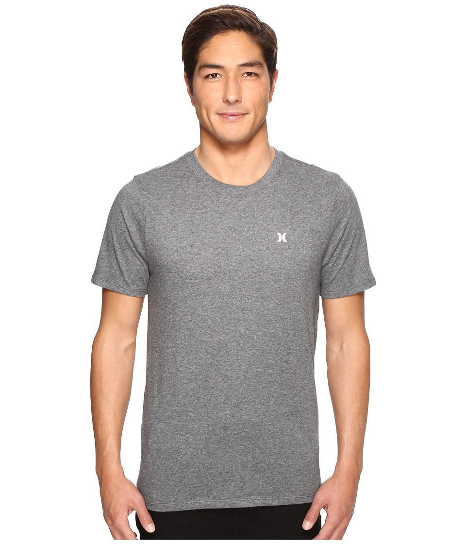Hurley - Icon Dri-Fit Tee (Charcoal Heather) Men's T Shirt