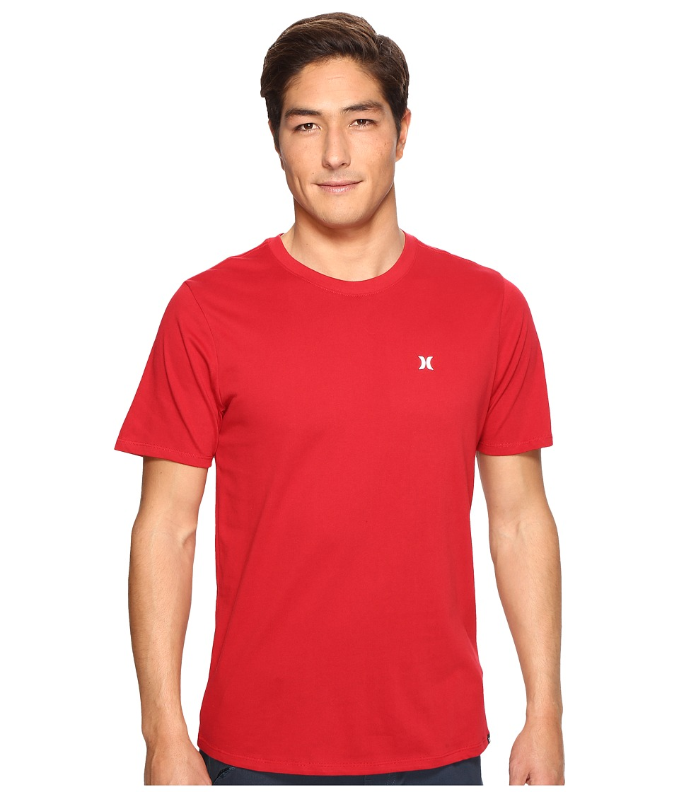 Hurley Icon Dri-Fit Tee (Gym Red) Men
