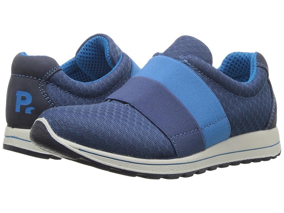 Primigi Kids - PTG 7591 (Little Kid) (Grey/Blue) Boy's Shoes