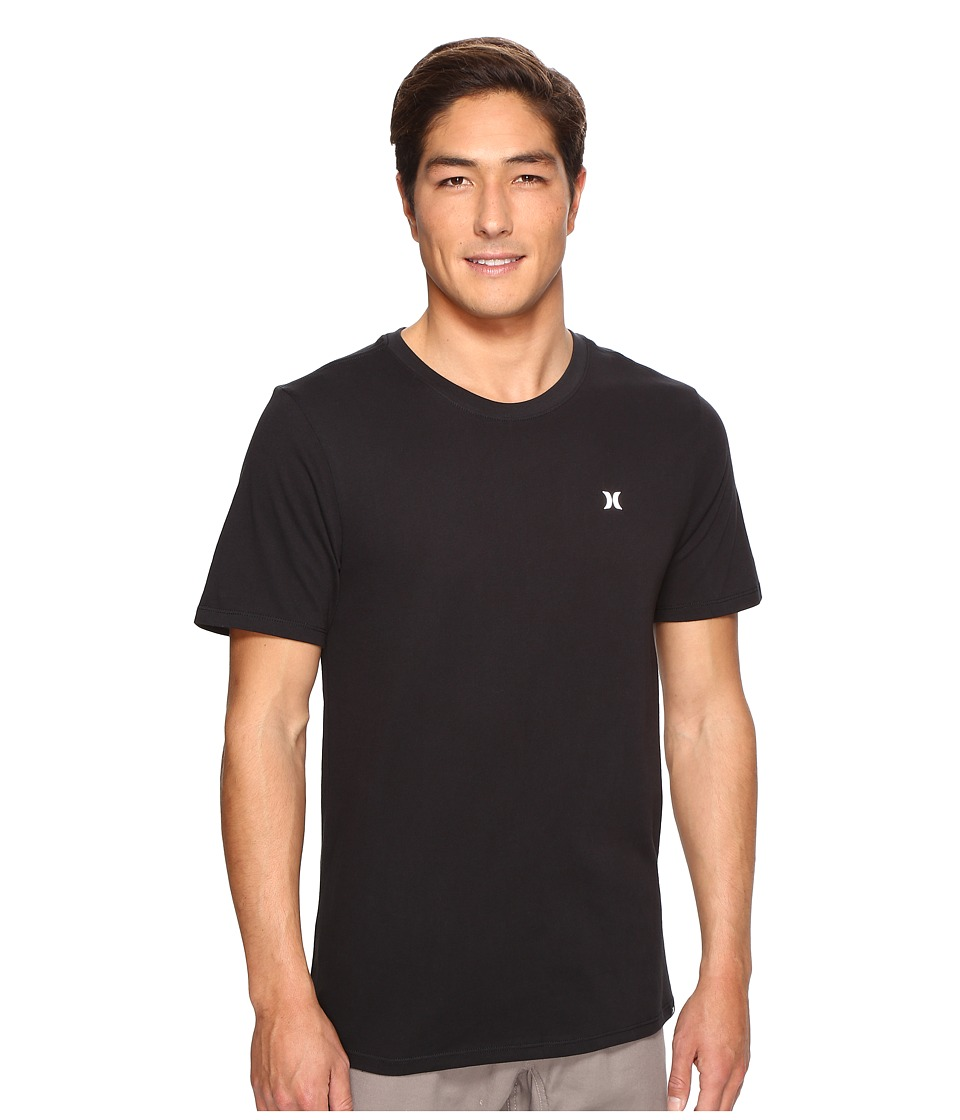 Hurley - Icon Dri-Fit Tee (Black 1) Men's T Shirt