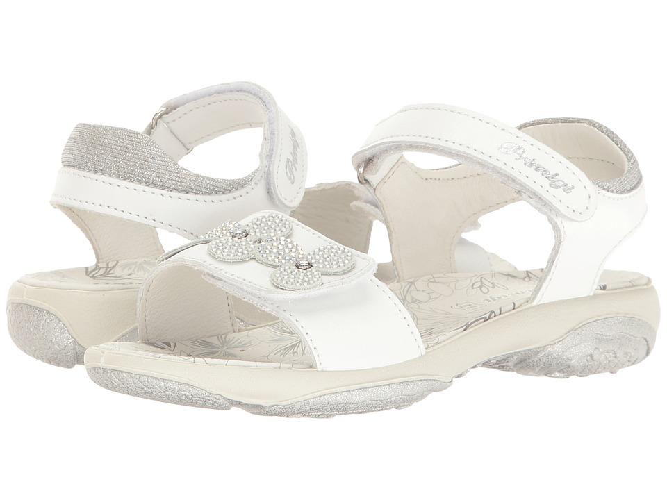 Primigi Kids - PBR 7595 (Little Kid) (White) Girl's Shoes