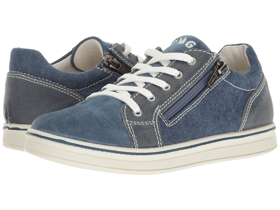 Primigi Kids - PAY 7623 (Little Kid) (Blue) Boy's Shoes