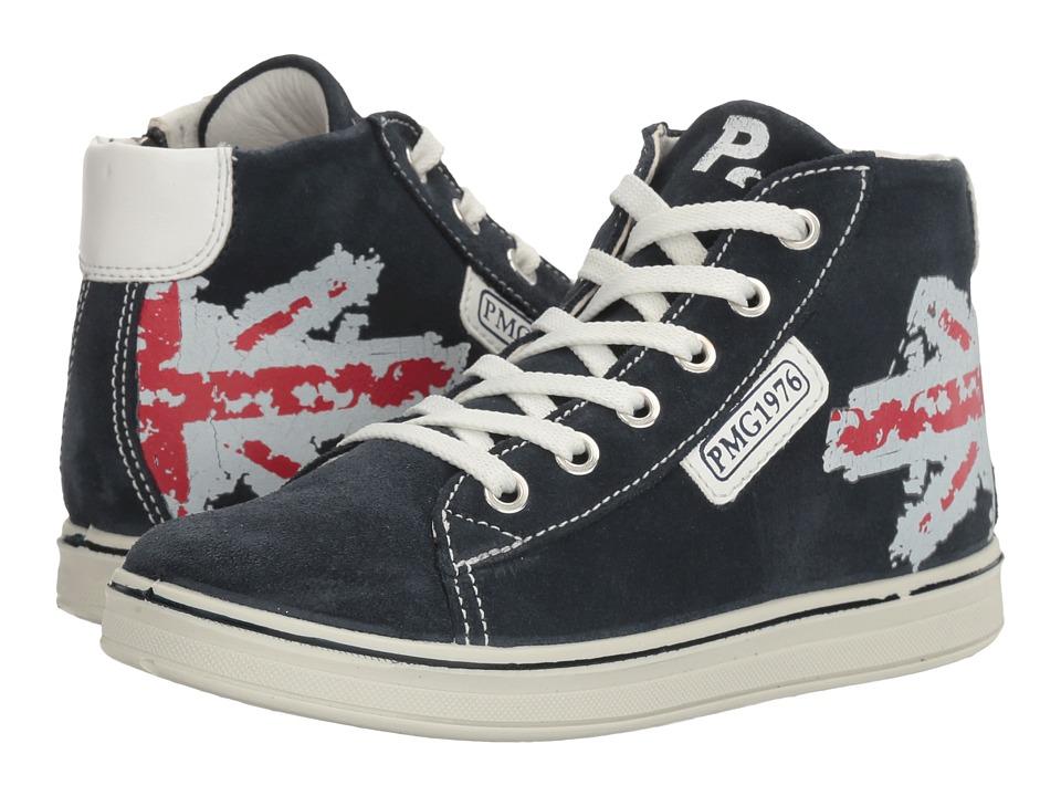Primigi Kids - PAY 7622 (Little Kid) (Navy) Boy's Shoes