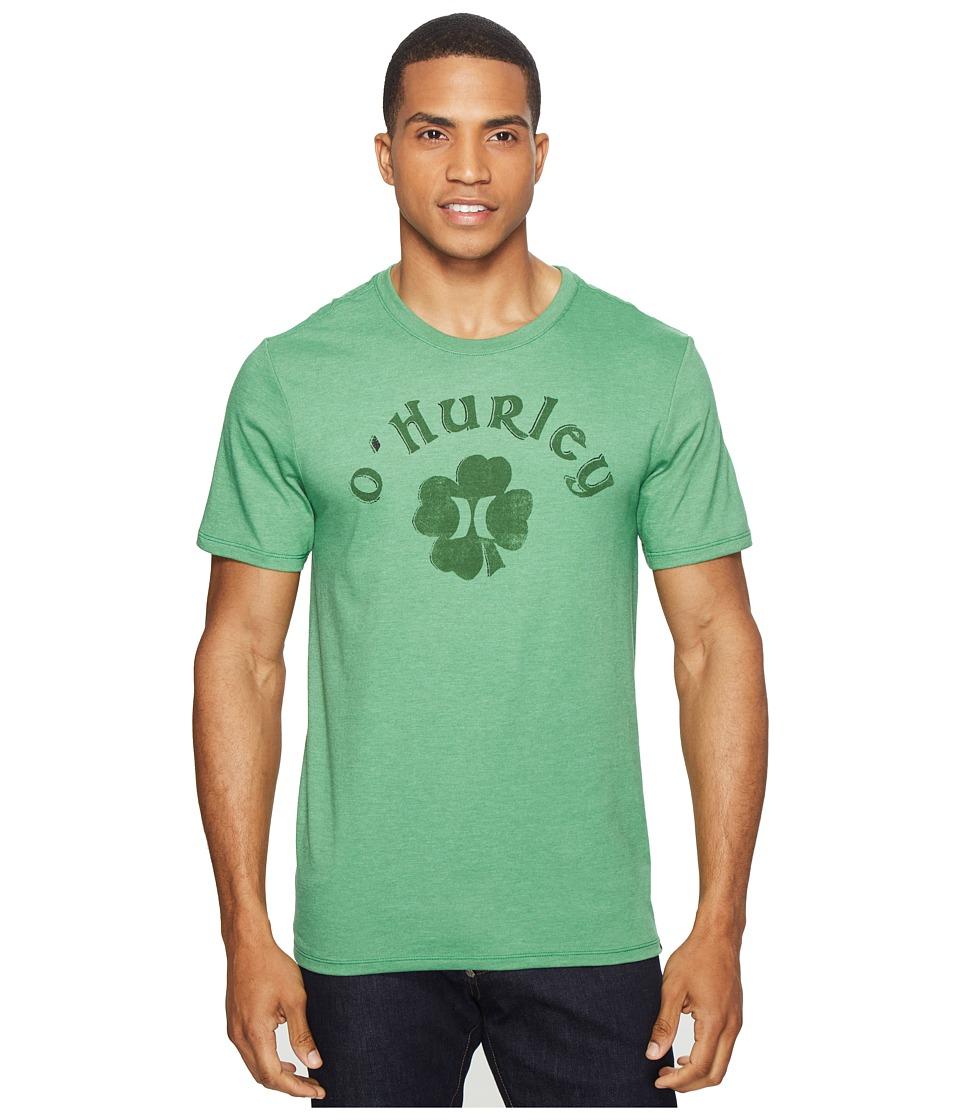 Hurley - Borderluck Tee (Gym Green) Men's T Shirt