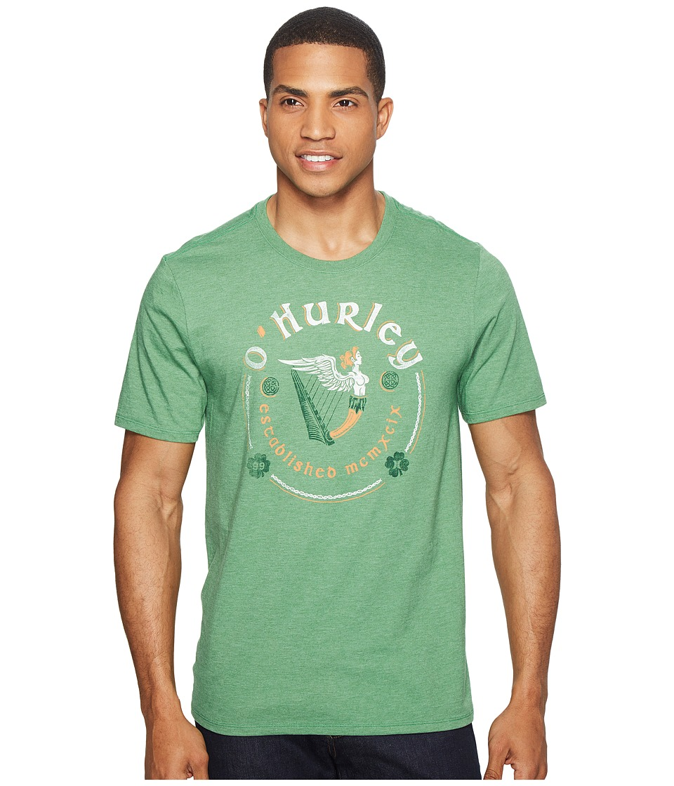Hurley - Yea Bragh Tee (Gym Green) Men's T Shirt