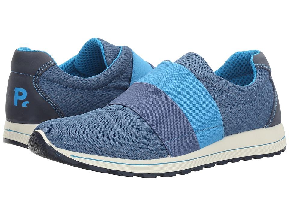 Primigi Kids - PTG 7591 (Big Kid) (Grey/Blue) Boy's Shoes