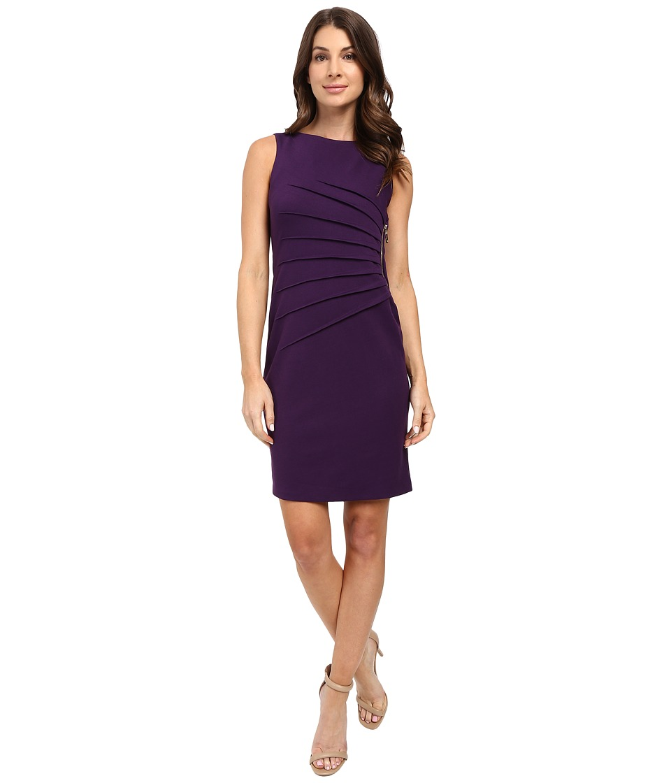 Ivanka Trump - Starburst Dress (Eggplant) Women's Dress