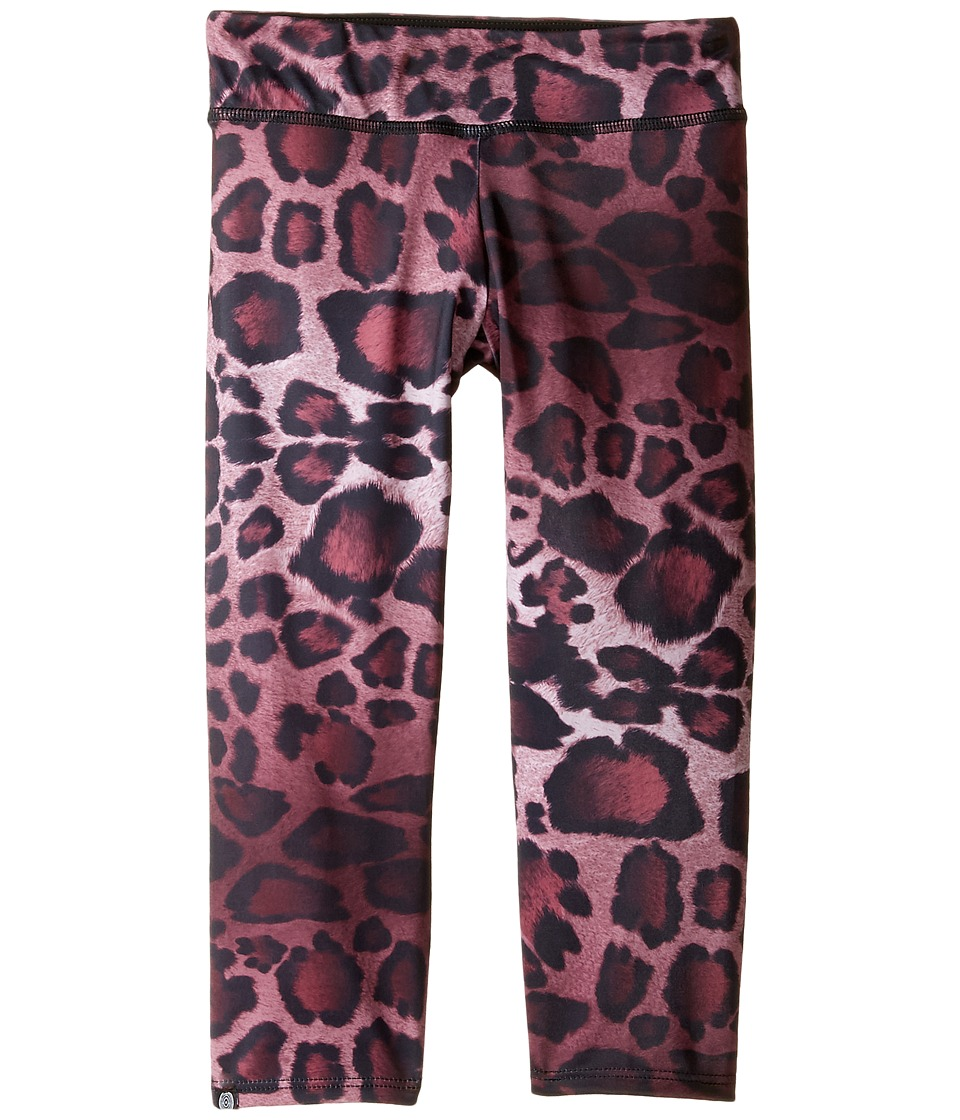 Onzie Kids - Capri Pants (Little Kids/Big Kids) (Purple Cheetah) Girl's Capri