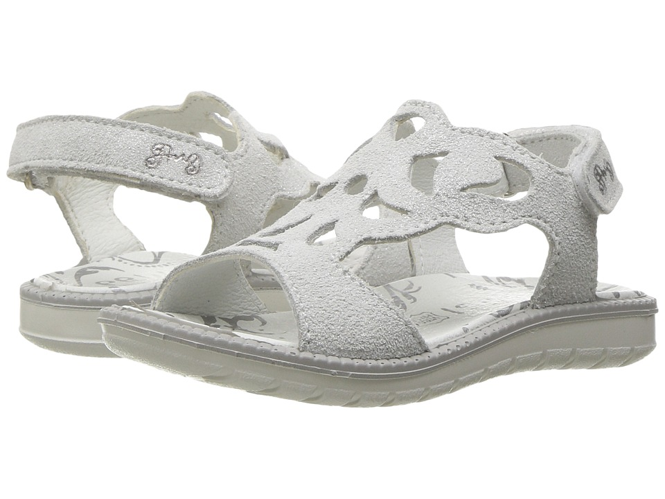 Primigi Kids - PAT 7615 (Toddler/Little Kid) (Silver) Girl's Shoes