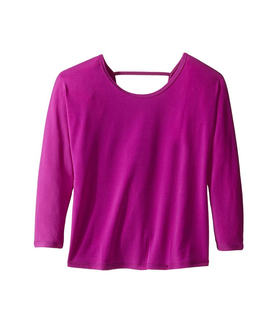 Onzie Kids - Scoop Back Top (Big Kids) (Rosebud) Girl's Clothing