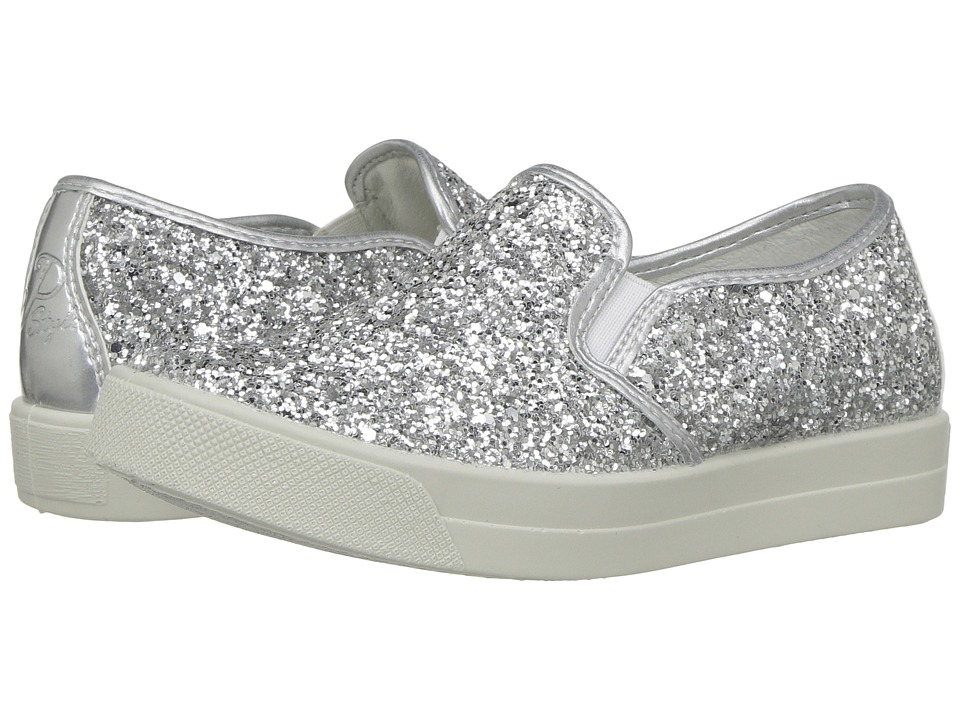 Primigi Kids - PAN 7578 (Toddler/Little Kid) (Silver) Girl's Shoes