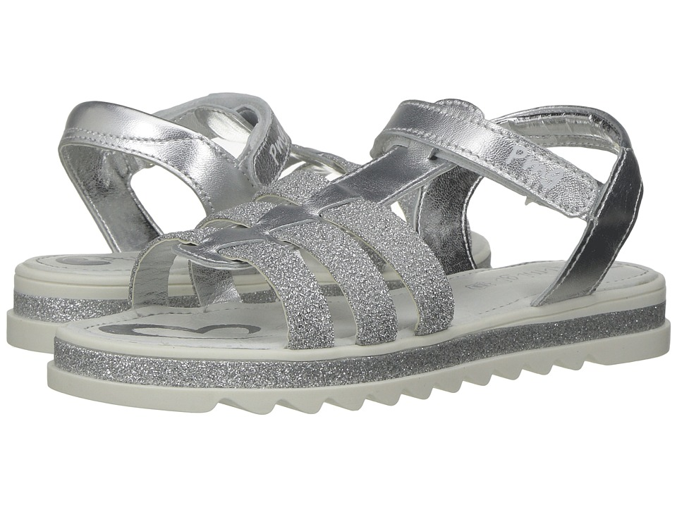 Primigi Kids - PFG 7203 (Little Kid) (Silver) Girl's Shoes