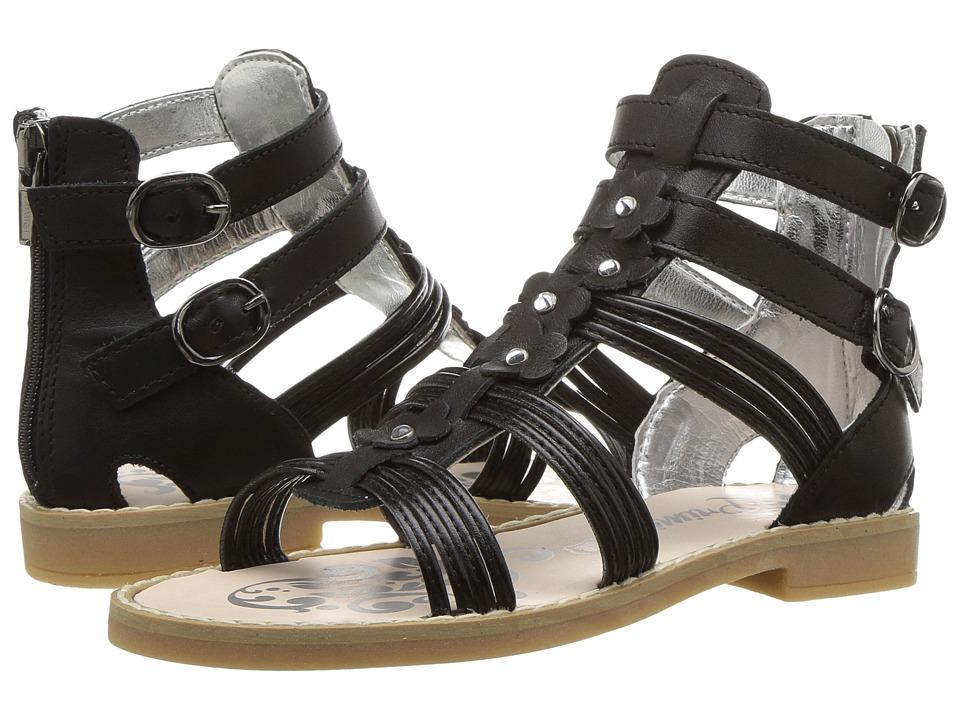 Primigi Kids - PFD 7225 (Little Kid) (Black) Girl's Shoes