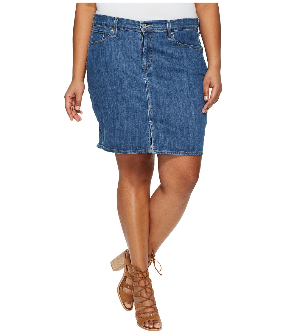 Levi's(r) Plus - Icon Skirt (Fox Creek) Women's Skirt