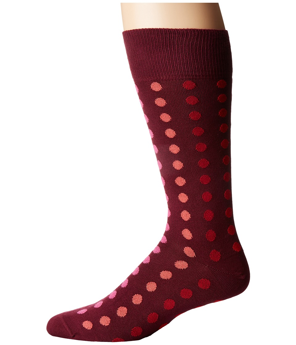 Paul Smith - Gradient Polka Sock (Multi 1) Men's Crew Cut Socks Shoes